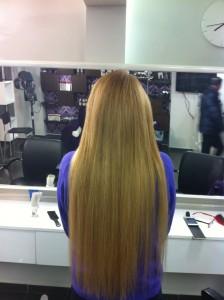 שיער חלק